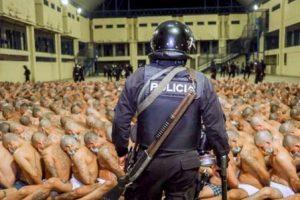 El Salvador Packs Semi Naked Gang Members in Cells to Tout